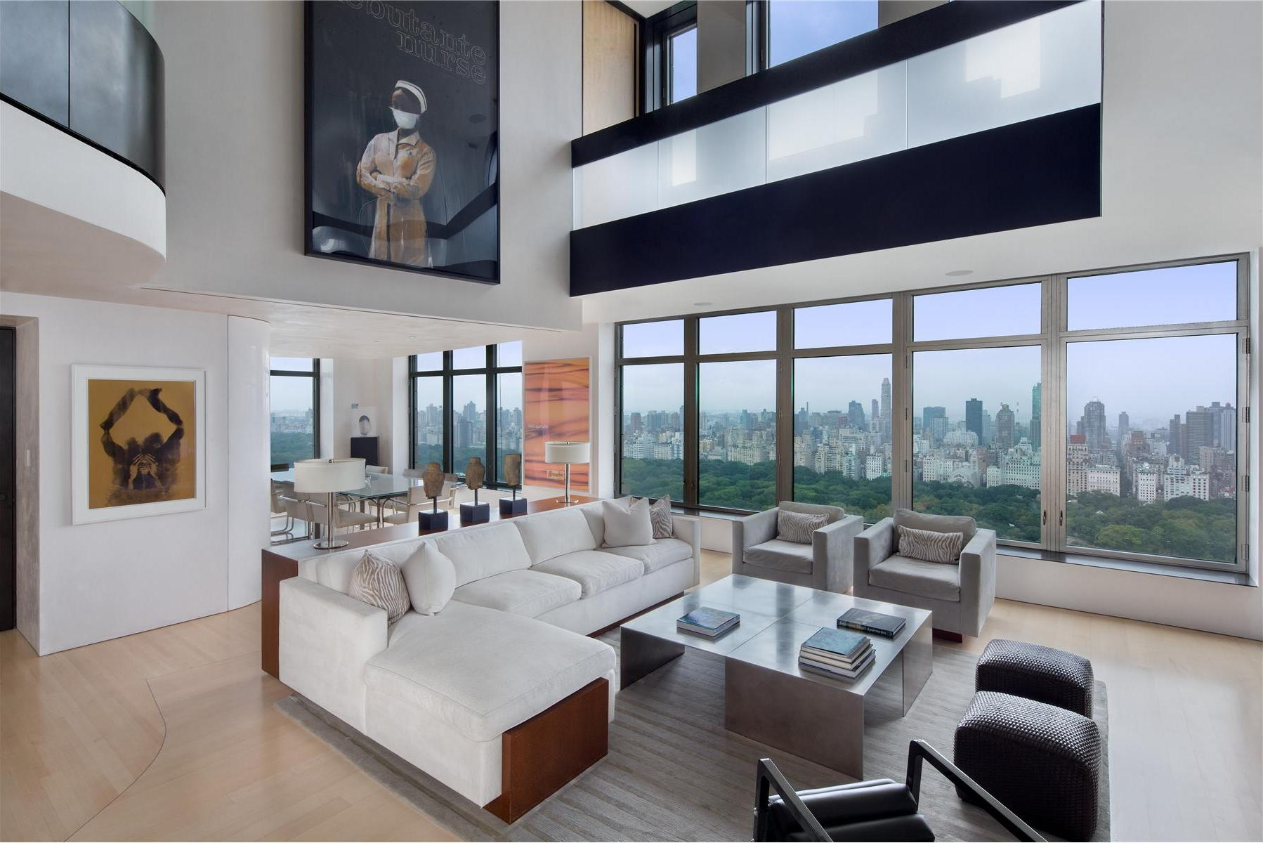 Exclusive duplex penthouse in manhattan for Penthouse apartments in nyc