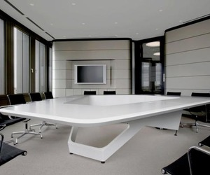 Executive Conference Table by KINZO
