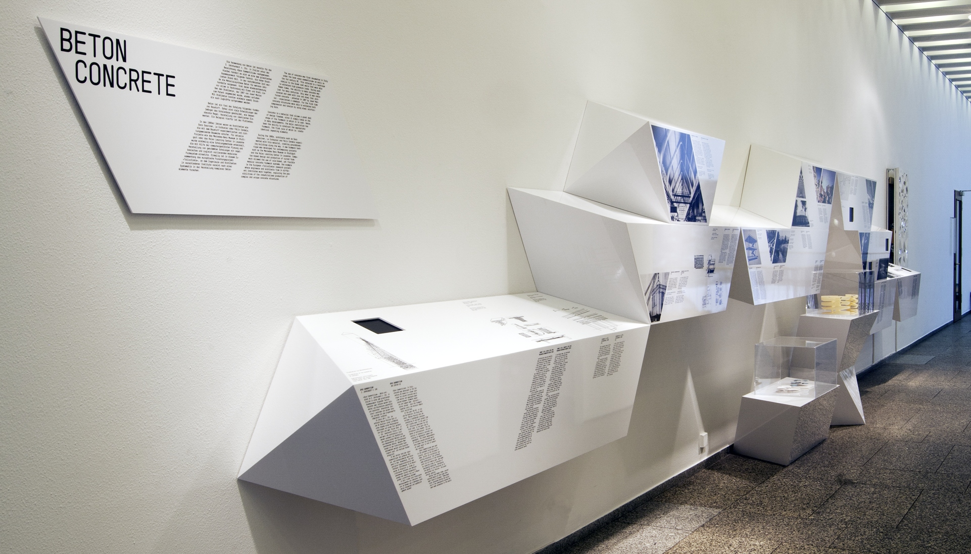 Exhibition Design For Architectural Particles