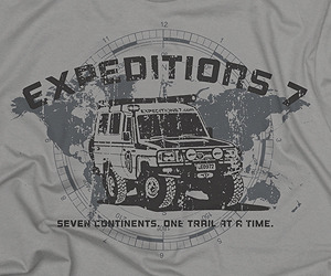 Expeditions 7 Land Cruiser t-shirt