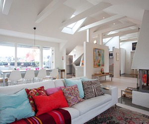 Exquisite Loft Space Featuring Stylish Details in Sweden