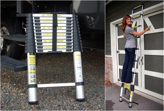 Extend A Step Telescoping Ladder