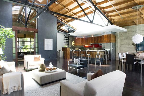 Extraordinary Loft Conversion In San Francisco