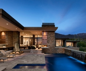 Extraordinary Modern Desert Home by Tate Studio