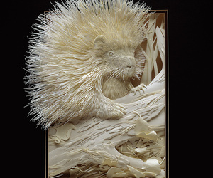Extraordinary Paper sculptures By Calvin Nicholls