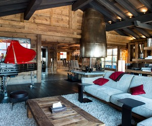Extravagent Art Chalet in the French Alps, France