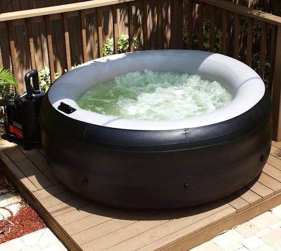 Portable Hot Tub : Ez spa portable hot tub
