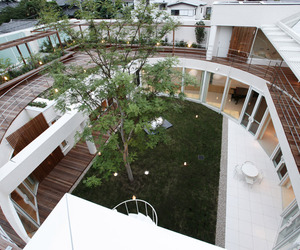F Residence with Beautiful Courtyard