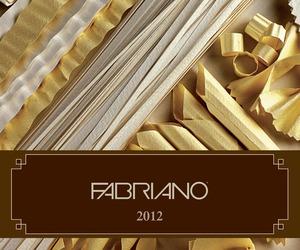 Fabriano Calendar 2012, Paper Becomes Pasta