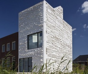 Fabric Facade Studio House by Rob Veening