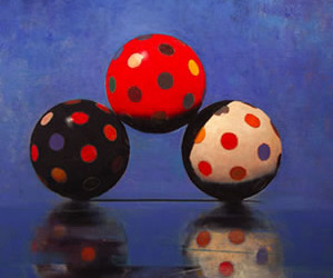 Fabulous Skee Ball paintings by John Gibson