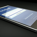 Facebook Phone Rendering by Michal Bonikowski.