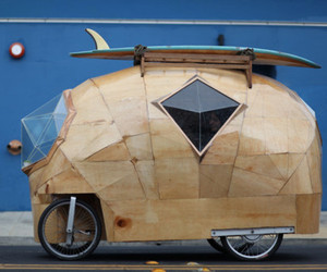 Faceted Wooden Cars by Jay Nelson