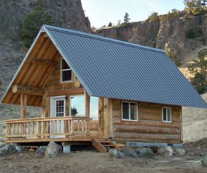 Fall Creek Montana Mobile Cabin
