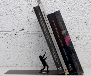 Falling Books Bookend