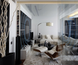 Fantasy Island Apartment in Moscow by Gemotrix Design
