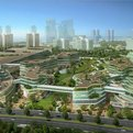 Fascinating eco-city near Tianjin, China