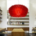 Fat and Fuzzy Thing Pendant Light