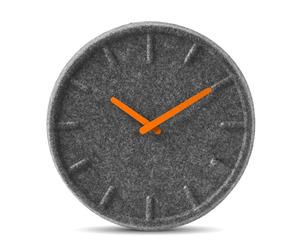 Felt Clock by Sebastian Herkner