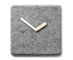 Felt Panel Clock by Norm Architects