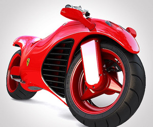 Ferrari Motorcycle by Amir Glinik