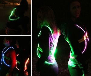 Fiber Optic Athletic Gear