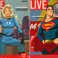 Fictional Magazine Covers Feature Sexy Superheroes