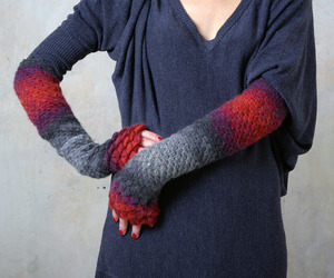 Fingerless Gloves by mareshop.