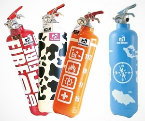 Fire Design – Decorative Fire Extinguishers
