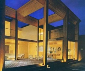 Fire Island House by Arthur Erickson