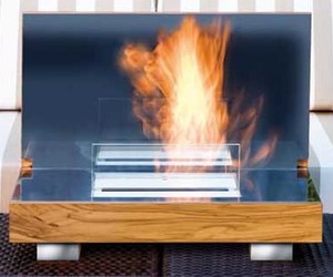FIREBO-X, Portable Fireplace From Germany's Schulte