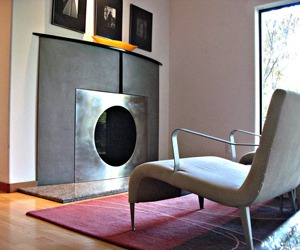 Firescreen and Mantle