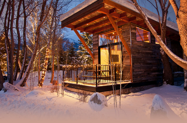 fireside resort luxury cabins in jackson hole wheelhaus