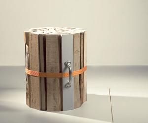 Firewood Stool