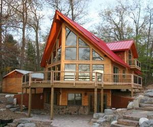 First Leed Platinum Log Home
