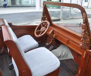 First Wooden Car In Vietnam by Nguyen Khang