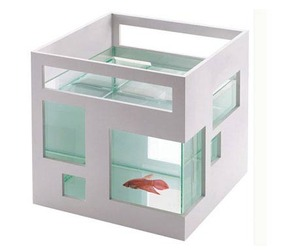 'Fishhotel,' Fish Bowl by Teddy Luong for Umbra