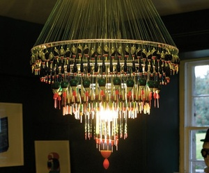 Fishing Float Chandelier from Pedlars