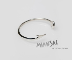Fishing Hook Cuff by Miansai