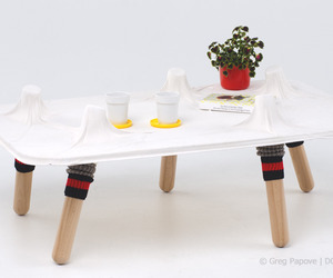 Five Toes Coffee Table by Greg Papove