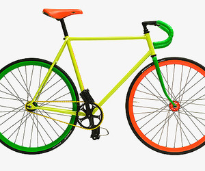 Fixed Gear Bike by Benedict Radcliffe