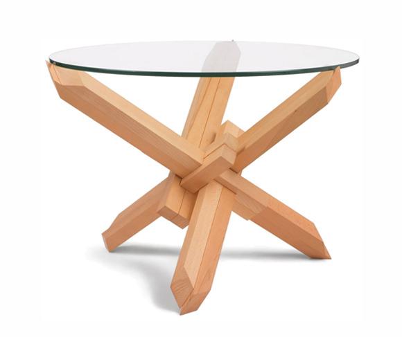 Flat Pack Coffee Tables by Praktrik