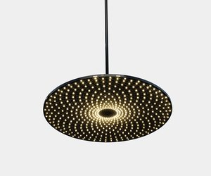 Flatliner Pendant Lamp by Jason Bruges