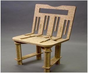 flatpack : Unique Chair Design by Celeste Glavin