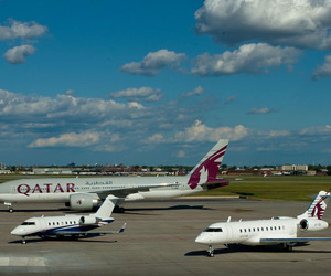 Flexjet Partners with Qatar Airways