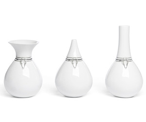 FlexVase, Unique Ceramic Flower Vase