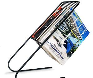 Float Magazine Rack