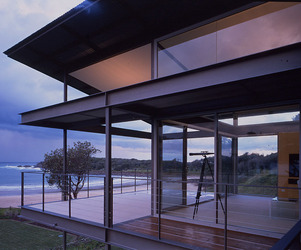 Floating roof architecture