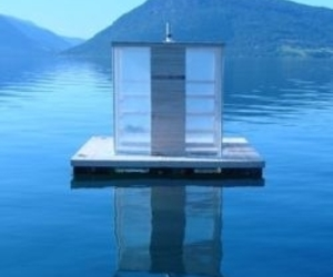 Floating Sauna