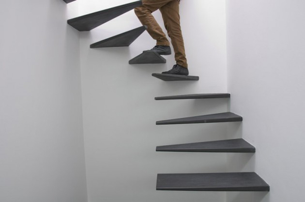 Floating Staircase By Feedback Studio